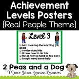 Student Self Assessment Achievement Levels Posters Real Pe