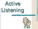 Active Listening Powerpoint Presentation