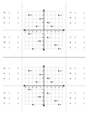Active Notetaking in Math [Foldables]: Coordinate Graphing