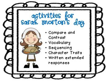 Activities for Sarah Morton's Day