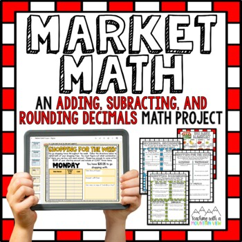 Adding and Subtracting Decimals Math Project