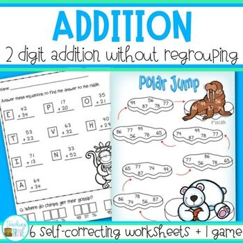 Addition - 2 digit no regrouping