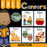 Fall - Addition - Center Games