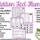 Addition Fact Fluency System
