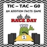 "Addition Facts ""Tic-Tac-Go!"" Partner Printable Game Activity"