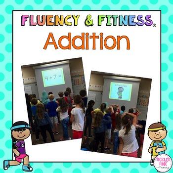 Addition Fluency & Fitness Bundle