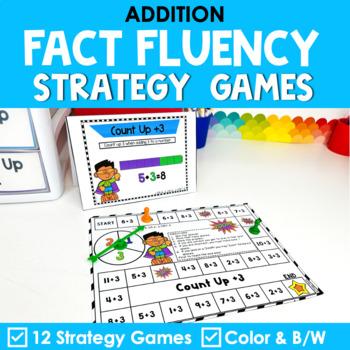 Math Fact Fluency {Addition Games}