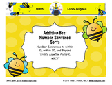 Addition Number Sentence Sorts: Within 20 and Beyond (CCSS