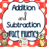 Math Fact Fluency: Addition and Subtraction {Common Core Aligned}