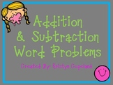 Addition and Subtraction (with Regrouping) Problem Solving