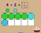 Addition to 10 (Ten Frame) cupcake smartboard activity