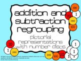 Addition/Subtraction Regrouping with Discs (like Singapore