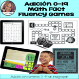 Adición 0-19- Spanish Math Games, Activities, & Lesson Plan