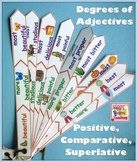 Adjectives - Positive, Comparative and Superlative