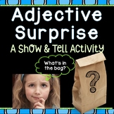 Adjective Surprise: What's in the bag? {A Show & Tell Activity}