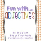 Adjectives Activities Packet for Free