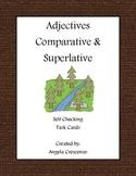 Adjectives - Comparative & Superlative Task Cards