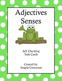 Adjectives - Senses Task Cards