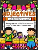Adjectives: Sentence Strips