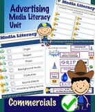 Advertising Unit - Commercials - Media Literacy PDF Unit -