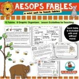 Aesop's Fables - Mini Unit -Reading-Writing