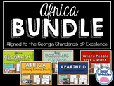 Africa Unit BUNDLE - Geography, Environmental Issues, Ethn