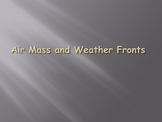 Air Mass and Fronts
