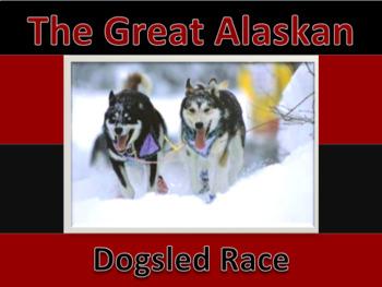 Alaskan Iditarod NO PREP Dogsled race Unit