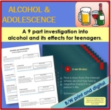 Alcohol Webquest and Research Task