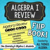 Algebra 1 Review Flip Book {For Geometry & Algebra 2 Students}