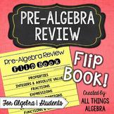 Pre-Algebra Review Flip Book {For Algebra 1 Students}