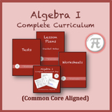 Algebra I Complete Curriculum on CD/USB (Common Core Aligned)