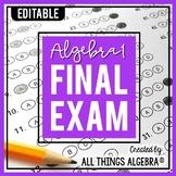 Algebra 1:  Final Exam