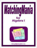 Algebra I MatchingMania Book