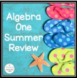 Algebra One Summer Review Packet