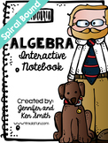 Algebra Spiral Bound Full Year Interactive Notebook: Teach