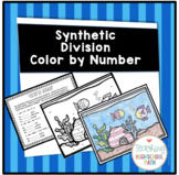 Algebra Synthetic Division Color by Number