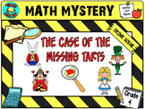 Math Mystery The Case of the Stolen Tarts