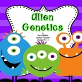 Alien Genetics {Aligns with NGSS 3-LS1,2 and 3-LS4-2} {science}