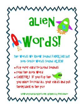 Alien Words - Blending Sounds
