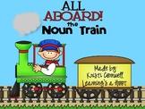 All Aboard the Noun Train {FREEBIE}