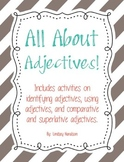 All About Adjectives Activity Pack
