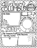 All About Christopher Columbus Poster: A Funtastic Columbu