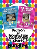 All About Fiction & Nonfiction Anchor/Flip Charts BUNDLED