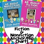 All About Fiction & Nonfiction Anchor/Flip Charts BUNDLED