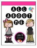 All About Me! ~ A Cute Gift Idea!!