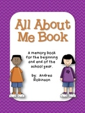 All About Me Book - Grades K through 5