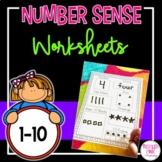 Number Sense (1-10) Worksheets