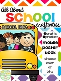 All About School Craftivities
