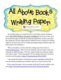 All About - WRITING PAPER (Lucy Calkins)
